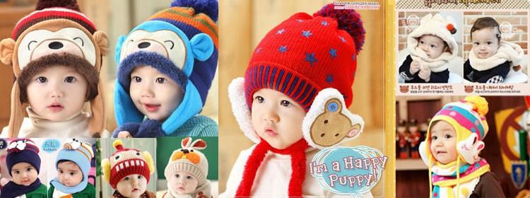 หมวกเด็กหน้าหนาว 1