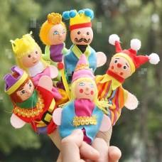 toy-07 ตุ๊กตาหุ่นนิ้วมือ ชุดเจ้าชายเจ้าหญิง