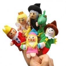 toy-08 ตุ๊กตาหุ่นนิ้วมือ ชุดเทพนิยาย